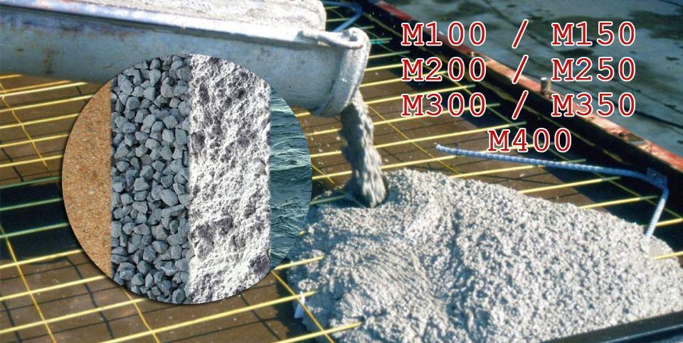 Подбор составов бетонных смесей, растворов, асфальтобетонов